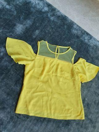 Love Bonito Yellow Top