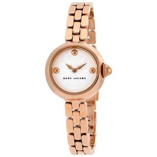 NEW MARC JAOBS Courtney Silver Dial Women's Rose Gold Watch MJ3458