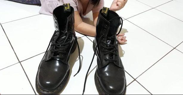 Leather Boots Dr Marteen
