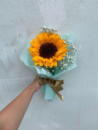 Sunflower graduation Bouquet