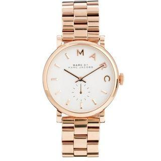 NEW Marc By Marc Jacobs Baker White Dial MBM3244 Women's Watch