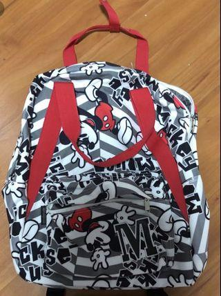 Mickey Mouse backpack from HK Disneyland