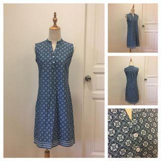 Seamstress - blue dress
