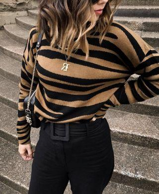 Ministry of Style Gold Dust Wool Sweater - Size M RRP $190