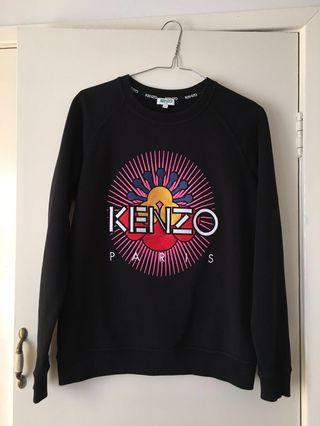 Kenzo Embroidered Tanami Flower Sweatshirt