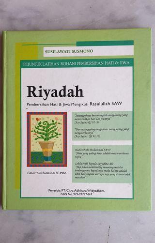 Buku RIYADAH- Pembersih Hati & Jiwa Mengikuti Rasulullah SAW (Pre-Owned)