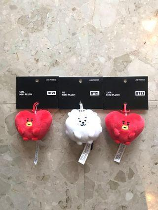 <INSTOCK> BT21 Ball/Pong Pong Plush/Bagcharm