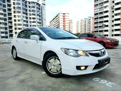 Honda Civic Hybrid For Rent