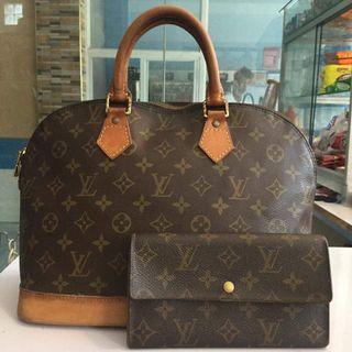 Louis Vuitton Bag and wallet bundle