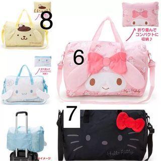 Travel bags Hello kitty gudatema tokidoki