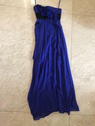 Bcbg maxaria Purple long dress