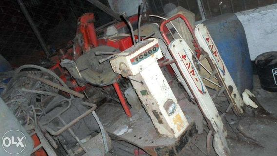 Harvester Thresher Combined Machine Surplus Japan