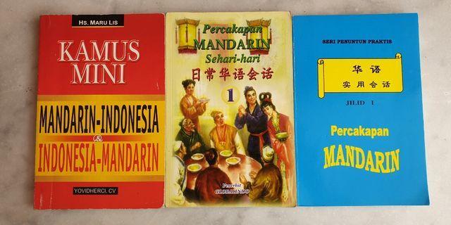 Pocket Books Belajar Bahasa Mandarin 1 Set Isi 3 Buku (Pre-Owned)