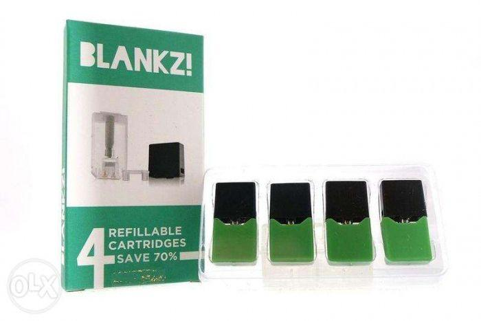 Blankz refillable replacement pods same size as juul pods on Carousell