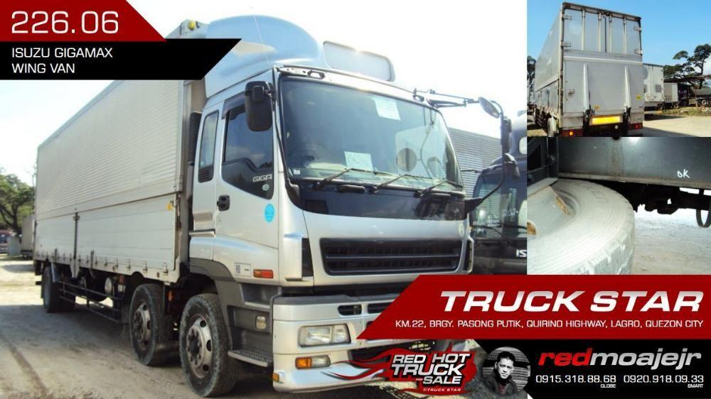 Isuzu Gigamax Wing Van 6UZ1 Engine 32Footer Truck For Sale on Carousell