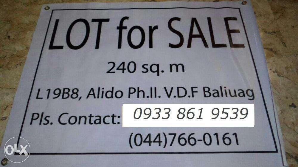Lot For Sale In Alido Subdivision Phase 2 Baliuag Bulacan