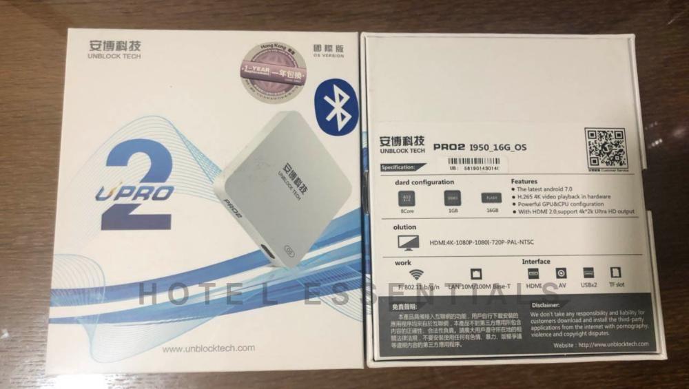 UNBLOCK TECH PRO 2 I950_16G_OS with Bluetooth ubox upro