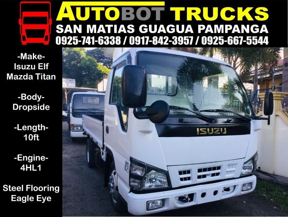 Isuzu Elf NKR 10ft Dropside Truck - Mazda 2019