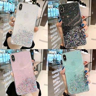 Oppo Huawei iPhone Transparent Sanddust Case