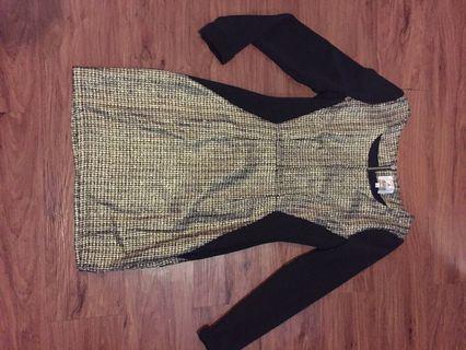 New! Sisa butik! Gold dress