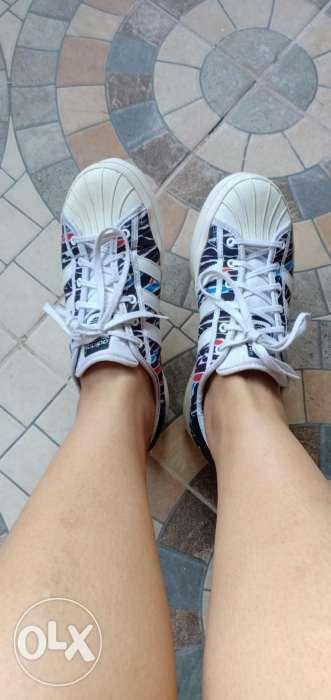 Adidas Superstar Zebra Authentic, Women