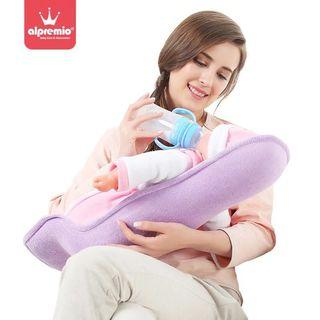 🚚 Baby Infant Nursing Feeding Pillow Holder with Mat (Purple Color)