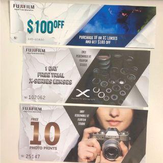 Fujifilm Voucher