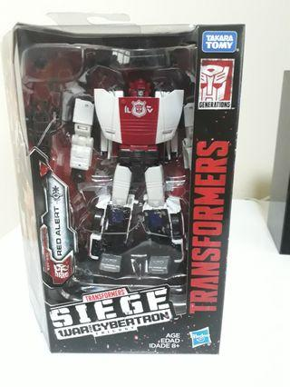 Transformers Wfc Siege Red Alert