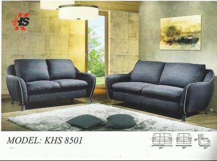 SOFA SET 1+2+3 INSTALLMENT PLAN -KHS 8501