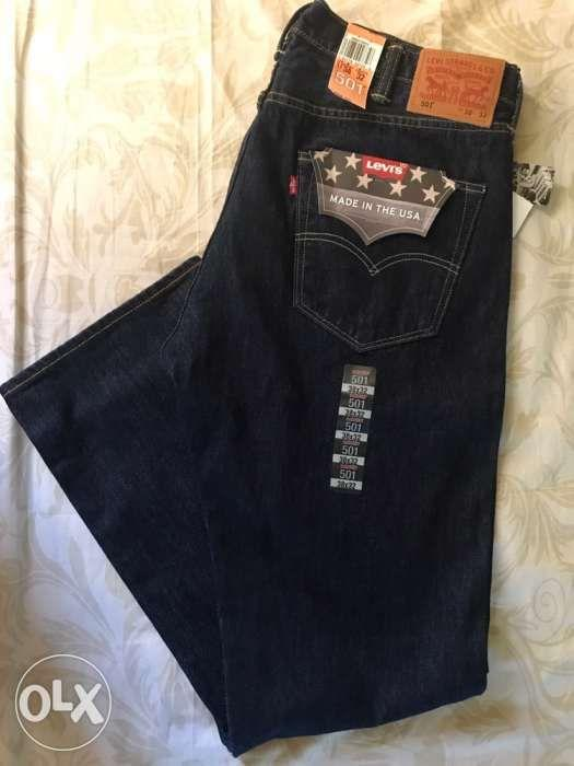 Levis Made in USA 501 Original Fit Jeans W38 L32 on Carousell