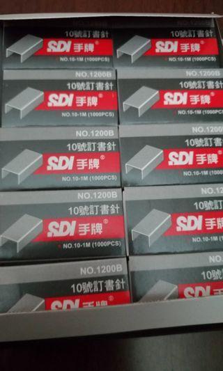 SDI手牌 10號訂書針