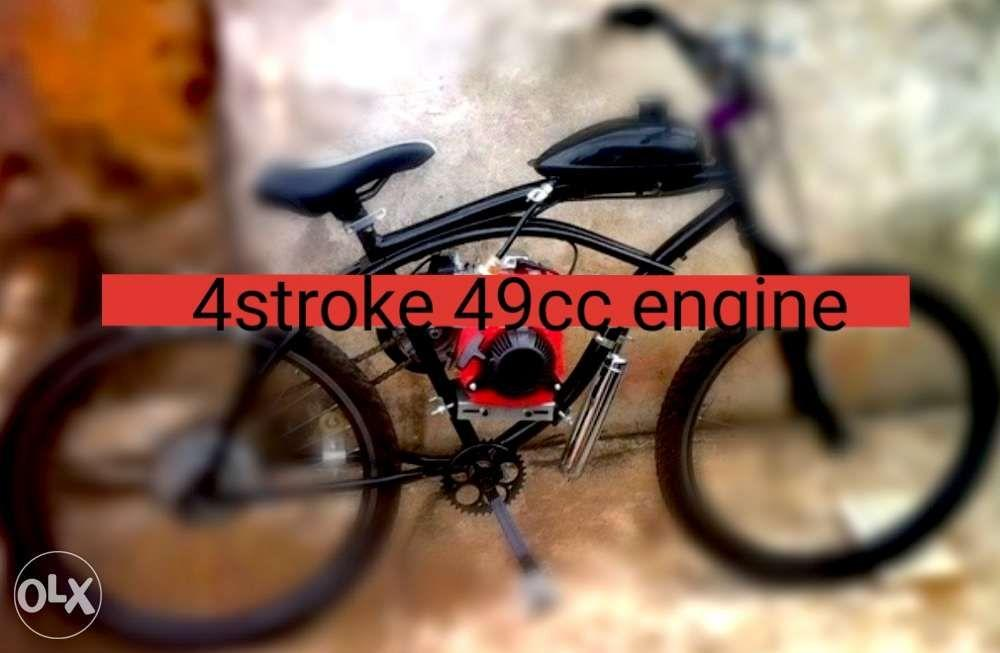 4 stroke 49cc mtb mountain bike engine kit PROMO regular price 12300