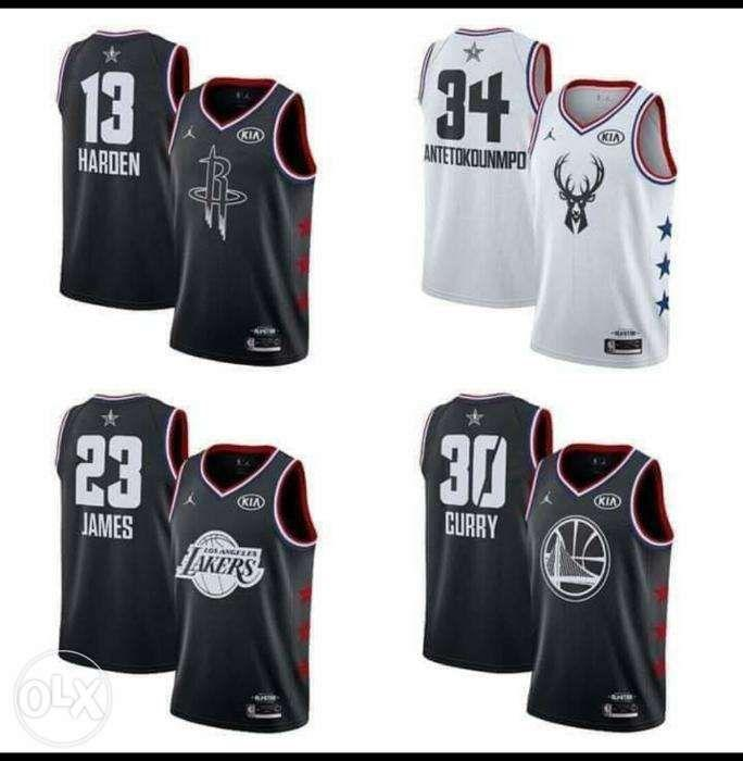 new products c86a2 02617 NBA all star jerseys 2019, Sports, Athletic & Sports ...
