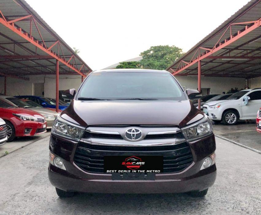 2016 Toyota Innova G Manual Diesel Top Of The Line Suv Wagon All
