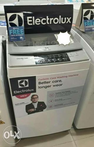 Brandnew Electrolux Washing Machine Top Load and Front Load and Dryer