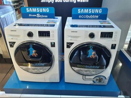 Brandnew Samsung FrontLoad Washer and Dryer and All in One Flexwash