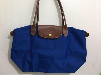 Authentic! Longchamp - Long handle (blue)