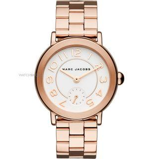 NEW Marc Jacobs MJ3471 Women's Riley Rose Gold Stainless-Steel Watch New