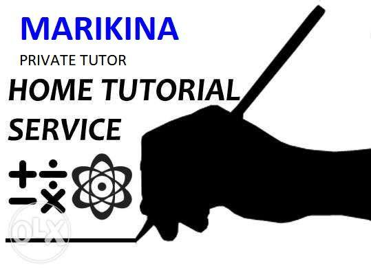 Math Science Private tutor Home Tutorial Services in Marikina