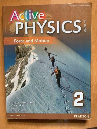 Active physics Force and motion 2