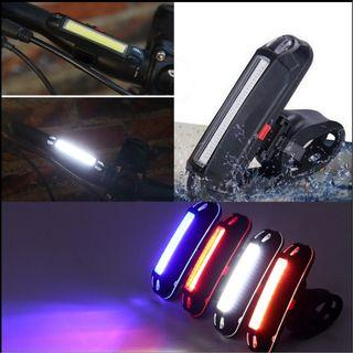 LED USB Rechargeable Rear light / Tail light for eScooter eBike Bicycle