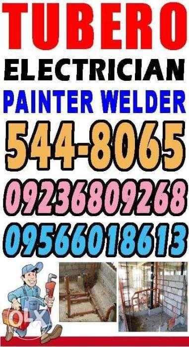 Insured Painting tubero electrician plumbing electrical plumber pintor