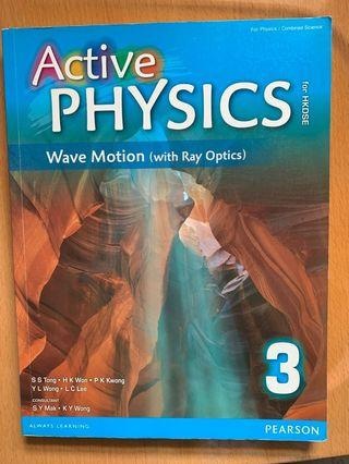 Active physics Wave motion 3