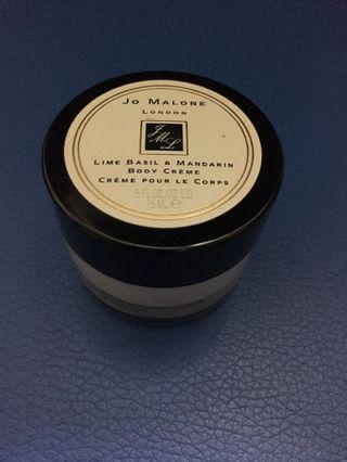 🚚 o Malone Lime Basil Mandarin Body Cream 0.5oz/15ml 身體乳液(旅行)