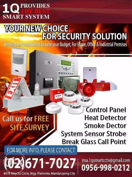 Fire Detection Alarm System installation on Carousell