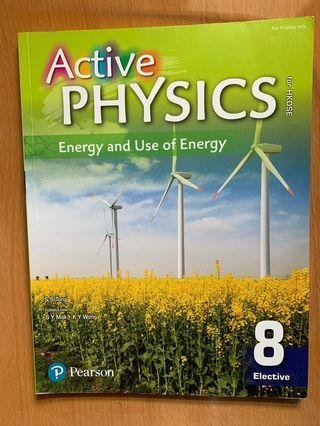 Active physics Energy and use of energy 8