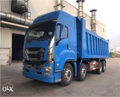 Isuzu 12 Wheeler Dump Truck Brand New