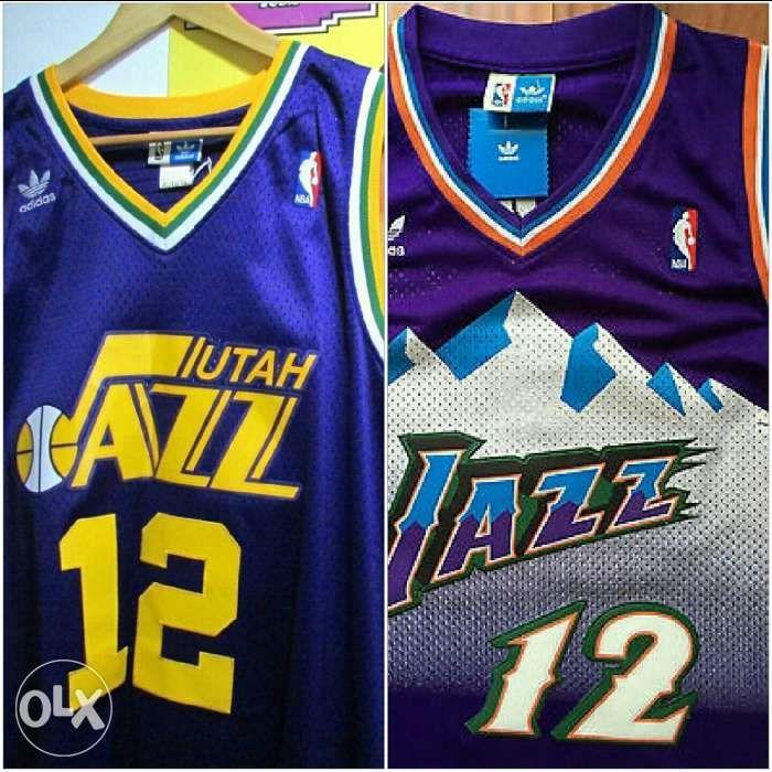 best sneakers 10131 b682f nba jersey john stockton utah jazz, Sports, Athletic ...