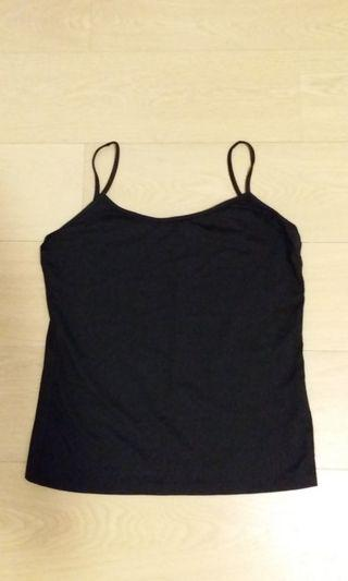 Brand New Zara Black Spaghetti Top