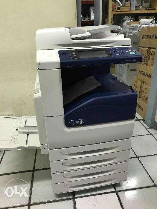 Digital Color Laser Printer Machine A3 size Xerox Workcentre 7225 on